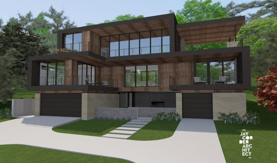 River Terrace Residence-Austin, Texas