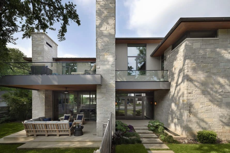 Crestview Residence designed by Jay Corder, AIA